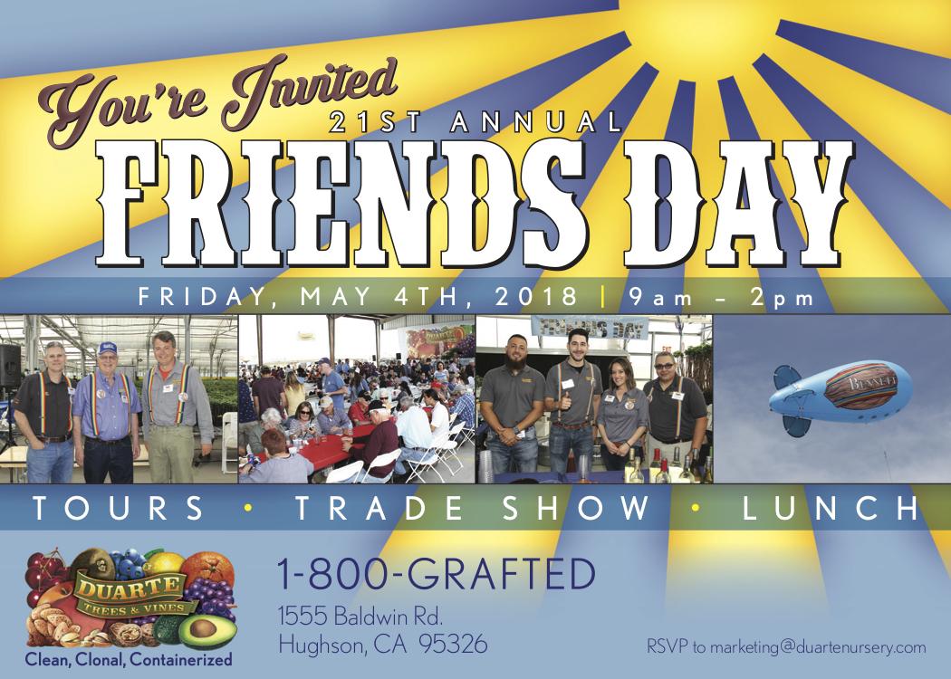 Duarte Friends Day – Pacific Nut Producer Magazine